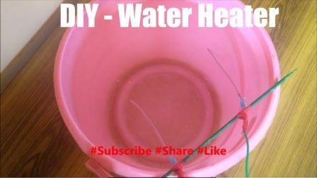 Water Heater Using Gi Wire School Science Experiment Diy
