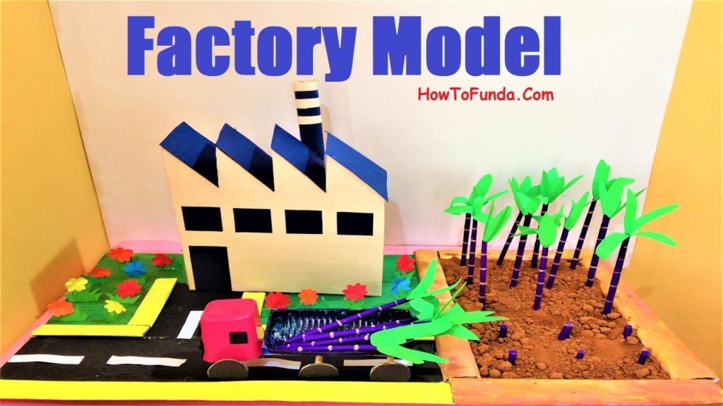 Sugarcane Factory And Agriculture Model Diy School